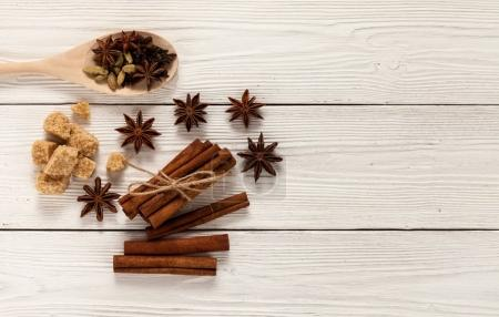 spices for mulled wine