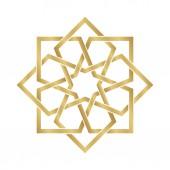 Arabesque zlatý Ornament