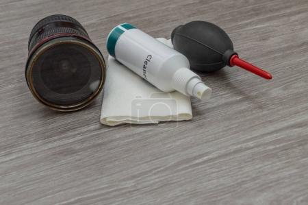 cleaning products for your lenses