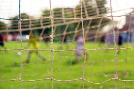 Soccer goal net