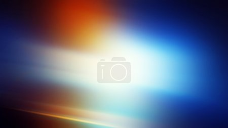 Photo for Abstract motion blur background, orange and blur light source - Royalty Free Image