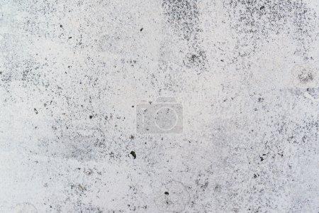 Asphalt road painted in white