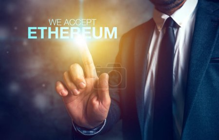 We accept Ethereum cryptocurrency