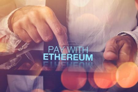 Pay with Ethereum cryptocurrency