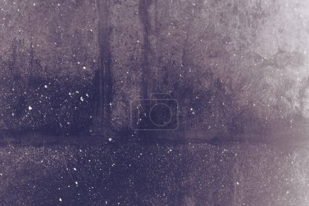 Photo for Dark concrete wall grunge texture, abstract background - Royalty Free Image