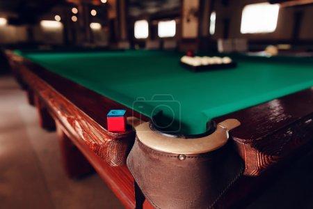 Modern billiard saloon