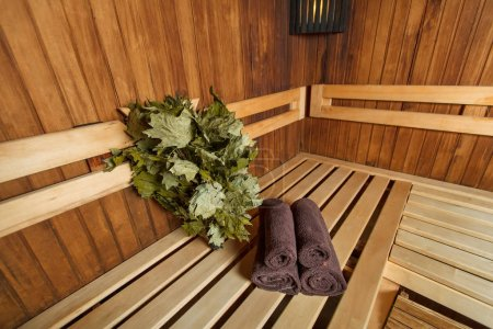Sauna for relaxation and wellness