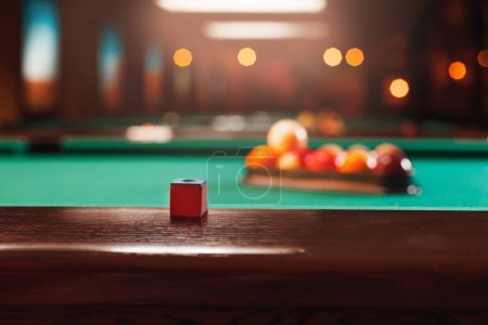 Billiard balls in pool triangle