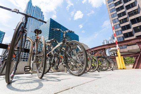 City bike rent parking