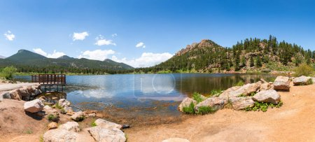 Rocky Mountain National Park in USA