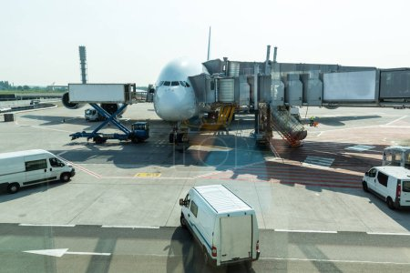 Luggage loading in airplane