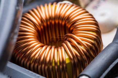 Electric transformer copper coil