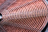 Induction heater copper