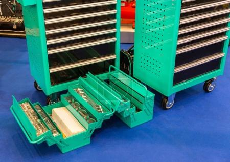 toolboxes with mechanical tools