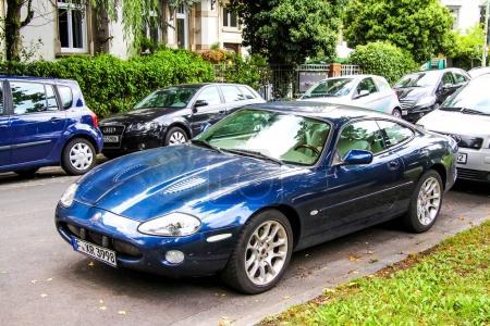 Car Jaguar XK