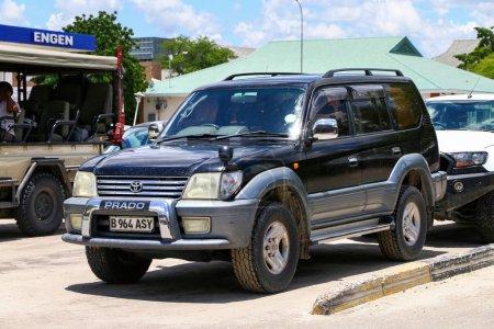 Maun, Botswana - February 9, 2020: Offroad car Toy...