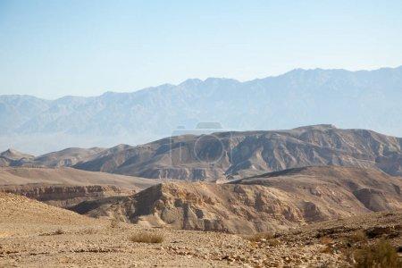 Photo pour Paysage désertique près de Eilat, Israël - image libre de droit