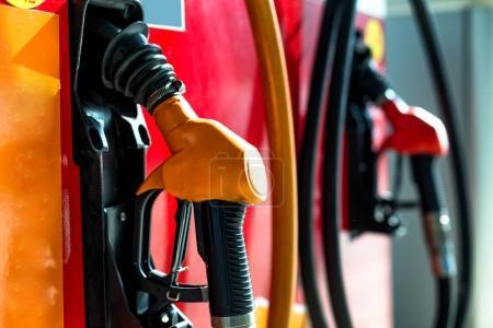 petrol gun with gas equipment