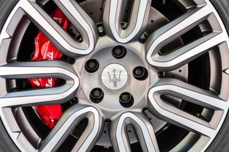 Close up of a Maserati