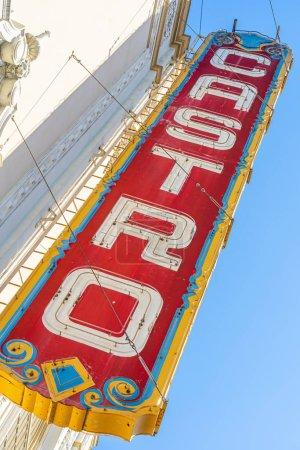 Photo for Castro Theatre Sign, Castro District, San Francisco, California. - Royalty Free Image