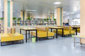 library reading area