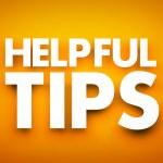Helpful tips - text. 3d illustration...
