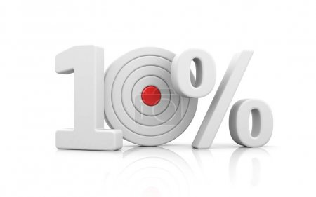 Target form the number 10 percent.