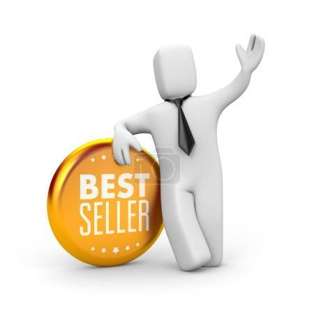 Best seller businessman