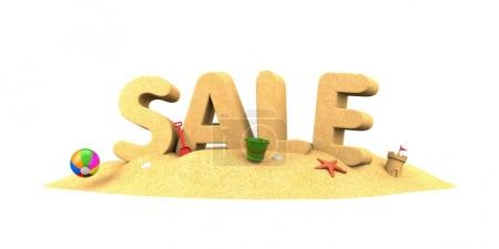 sandy lettering Sale with toys