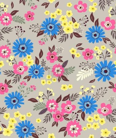 Amazing seamless floral pattern