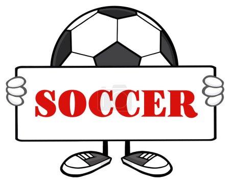 Soccer Ball Cartoon Mascot