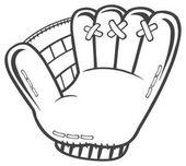 Black And White Baseball Glove