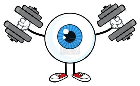 Eyeball Guy Cartoon