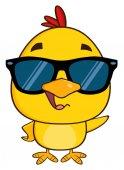 Yellow Chick Cartoon Character
