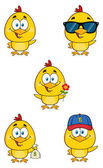 Yellow Chick Cartoon Character