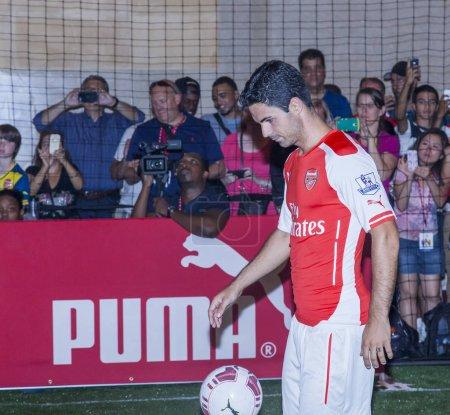 Arsenal football player Mikel Arteta