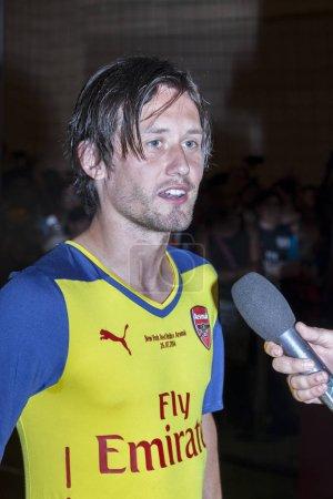 Arsenal football player Tomas Rosisky