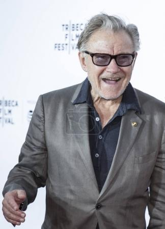 Actor Harvey Keitel