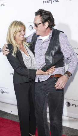 Actors DeAnna Madsen and Michael Madsen