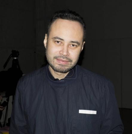 Carlos Campos on backstage