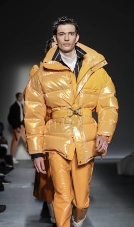 models walking runway