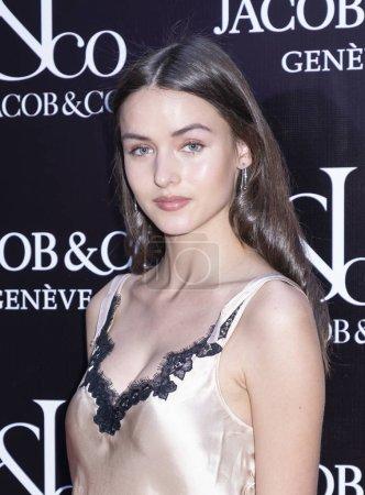fahion model Julia Restoin Roitfeld