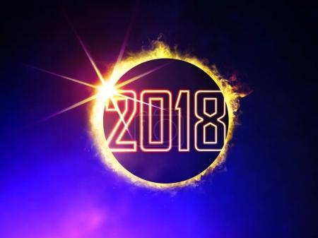 2018 on eclipse of the Sun