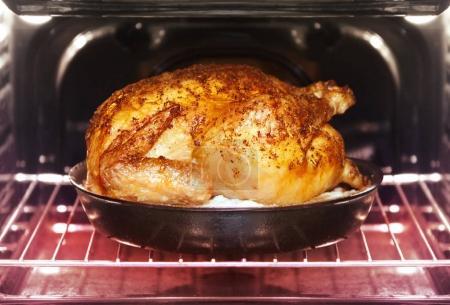 turkey roasts in oven
