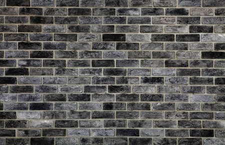 background of gray bricklaying