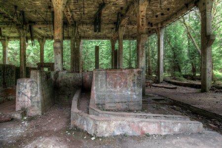 Former the tin mine abd war prison camp Rolava. Th...
