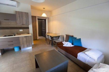 Luxury interior of Ledra Maleme hotel on Crete
