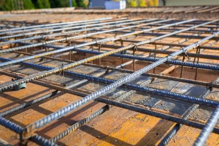 Steel reinforcement for the concrete floor