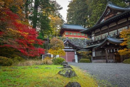 Autumnal scenery of Nikko national park