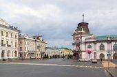 Kazan, Russia - Mar 26.2017. National Museum and Executive Committee on Kremlin Street